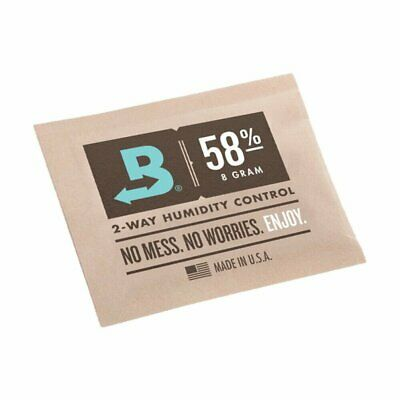 Boveda Medium 8 Gram Humidipak 58% - Bulk 50 Pack