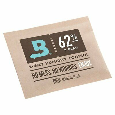 Boveda Medium 8 Gram Humidipak 62% - Bulk 50 Pack