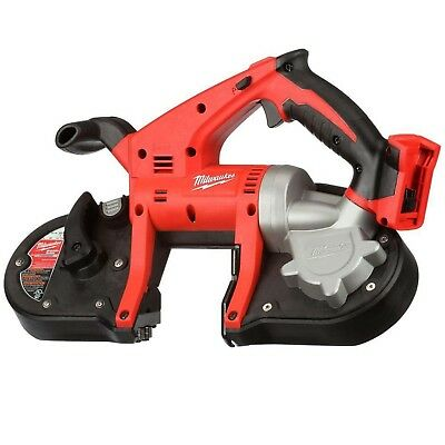 Milwaukee M18 18-Volt Lithium-Ion Drop Resistant Pulley Guard Cordless Band Saw