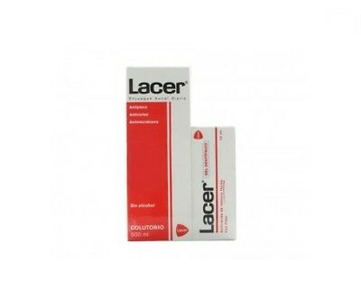 Lacer colutorio 500ml+Lacer gel dentífrico 35ml