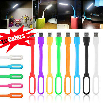 Flexible USB LED Light Lamp for Computer Keyboard Reading PC Laptop Notebook LA
