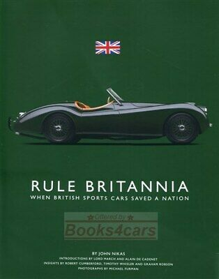 Rule Britannia Book Nikas British Sports Cars