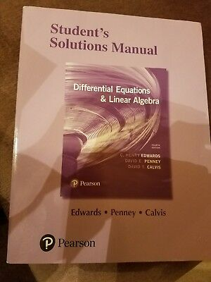 Students solutions manual for differential equations and linear students solutions manual for differential equations and linear algebra by fandeluxe Image collections