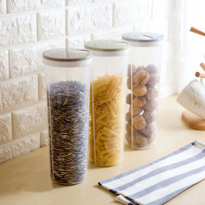 Pasta Preserving Food Storage Container Spaghetti Noodles Canister Kitchen Tool