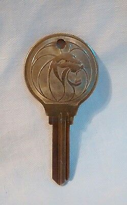 Rare Blank Early MGM Grand Las Vegas Casino Hotel Lions Head Room Key