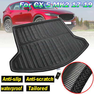 Rear Cargo Liner Boot Trunk Tray Floor Mat For Mazda CX-5 CX5 MK2 2017 2018 2019