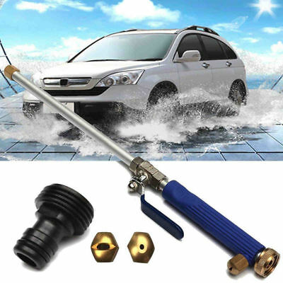 Aluminium High Pressure Power Washer Spray Nozzle Water Gun Hose+2 Spray Tip EN