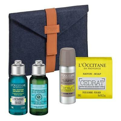 L'Occitane Cedrat Gel Doccia 75ml Set 4 Parti 2017