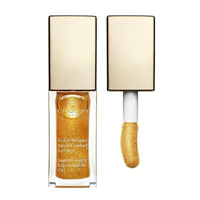 Clarins Eclat Minute Huile Confort Lèvres 07 Honey Glam 7ml