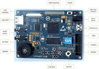 LPC4357 Evaluation Board  by embest