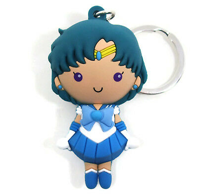 SAILOR MOON 3D Figural Keyring Series 1 SAILOR MERCURY KEYCHAIN Opened Blind Bag