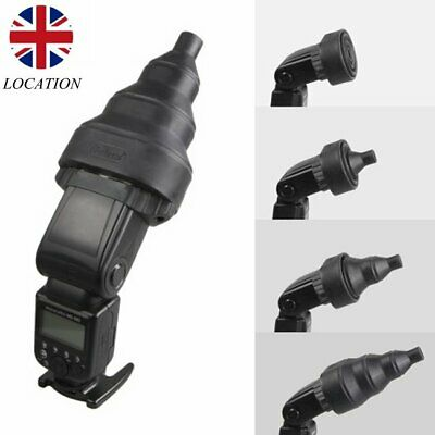 Selens Magnetic Folding Flash Snoot Beam Conical For Yongnuo Canon Nikon Sony UK