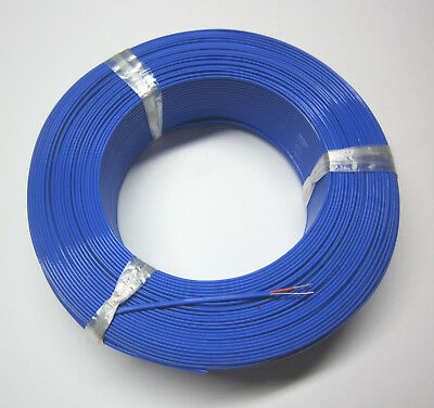 T-type Thermocouple Wire AWG 24 Solid Wire w. FEP Insulation Extension 1 yard
