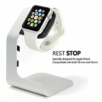 Apple Watch Stand Charging Dock Stand 42mm 38mm Series 3 2 1 Silver Grey New