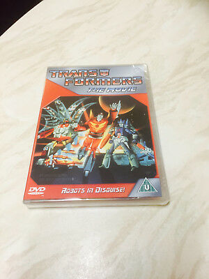 Transformers the Movie - Robots in Disguise (DVD 1986) Brand New Sealed