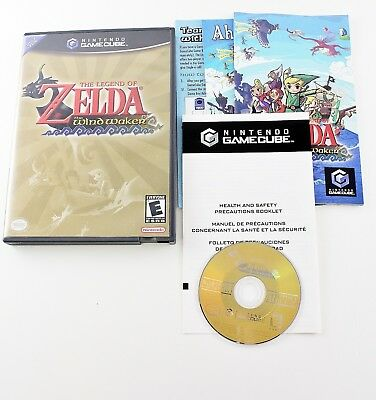 Legend of Zelda: The Wind Waker Nintendo GameCube Black Label Complete Tested!