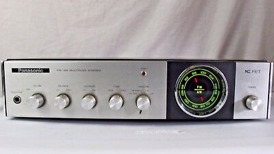 Vintage Panasonic FM-AM Multiplex Stereo IC FET Model  RE-7412 Tested & Works