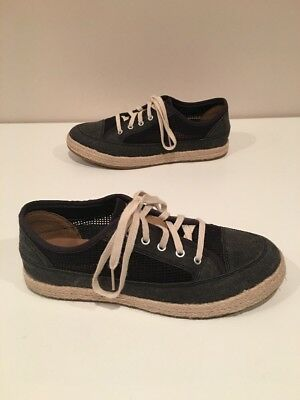 Clarks Collection Soft Cushion Casual Shoes Womens Gray/mesh Size 9