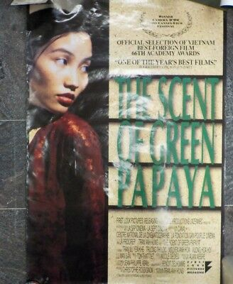 The Scent of Green Papaya 1993 Original Movie Theatre Poster