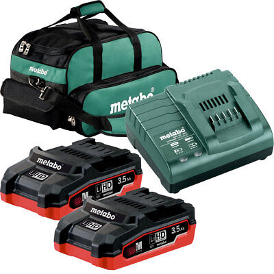 Metabo US625346002 LiHd Ultra-M Cordless Starter Kit w/ 2x 3.5ah + Charger New