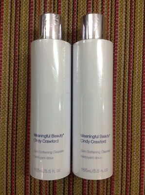 [2 pack] Meaningful Beauty Cleanser Skin Softening Cleanser Cindy Crawford 5.5oz