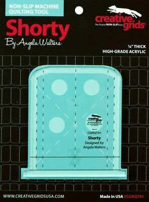 Angela Walters Machine Quilting Tool  - Shorty made by Creative Grids