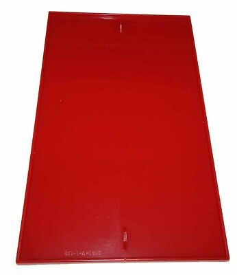Oak Vista / A & A Global Gumball Vending Machine Replacement Red Plexi Panel