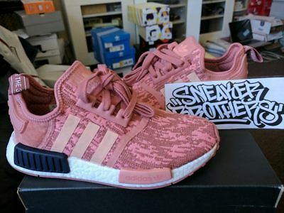 c97d42d636ba0 Adidas NMD R1 Runner W Nomad Women s Raw Pink Trace Legend Ink 3M White  BY9648