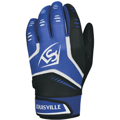 Louisville Slugger Adult Omaha Batting Gloves - Royal Blue