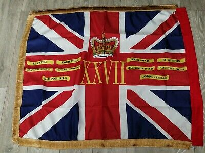 Royal Inniskilling Fusiliers 27th Regiment Of Foot kings colours flag