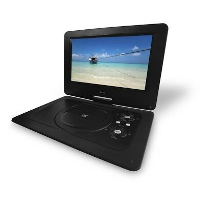 Brand New Dgtec 10.1Inch Portable Dvd Player Swivel Screen Usb Input Black