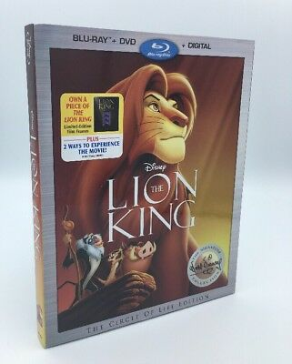 Lion King, The (Blu-ray+DVD+Digital, 2017; Signature Collection) with Slipcover