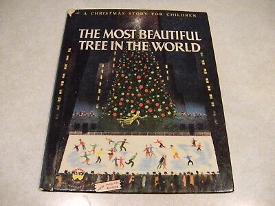The Most Beautiful Tree In The World Christmas Story 1956 Rare Vintage