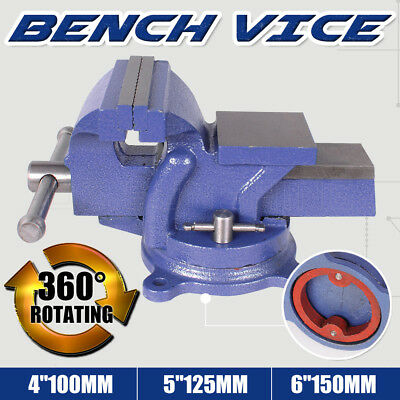 "4'' 5"" 6'' Inch Table Bench Vice Grip Clamp Heavy Duty Steel Mechanic Workbench"