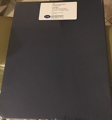 Creative Memories CLASSIC PAPER 9 1/2 x 12 1/2 Photo Mounting 20 Sheets