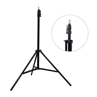 "Studio 200cm  Aluminum Photo Video Light Stand w/ 1/4"" Thread fr 34cm Ring Light"