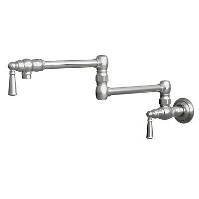 NEWPORT BRASS 2470-5503/15A JACOBEAN Wall Mount Pot Filler Faucet ANTIQUE NICKEL