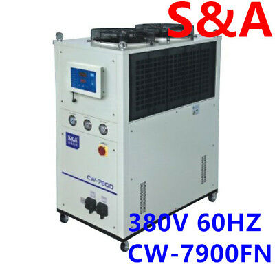 S&A 12HP, AC 3P 380V 60HZ CW-7900FN Industrial Remmote Control Water Chiller