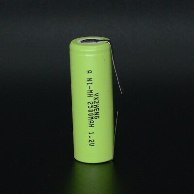 Toothbrush Replament Battery for Braun Oral-B 49 x17mm 1.2V A 2500mAh Ni-MH tabs