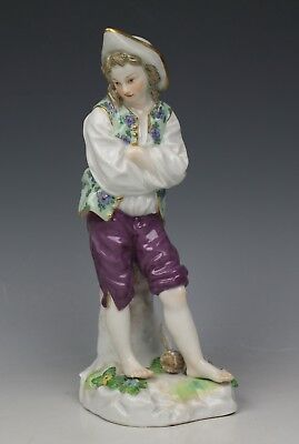 "Rare Meissen Figurine D79 ""Man with Arms Crossed"" WorldWide"