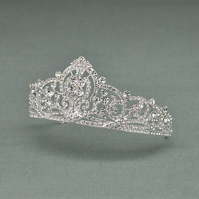 Crystal Crown Princess Tiara Rhinestone Bridal Hair Accessories for Party