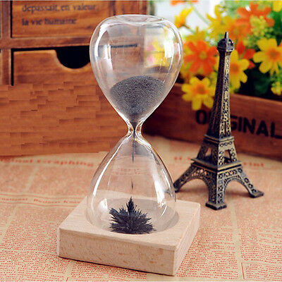Magnet Hourglass Sand Timer Clock Glass European Style Home Desk Decor STUK