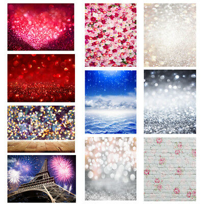 Valentine's Day Backdrop Fantasy Glitter Halo Photography Background Lover Photo