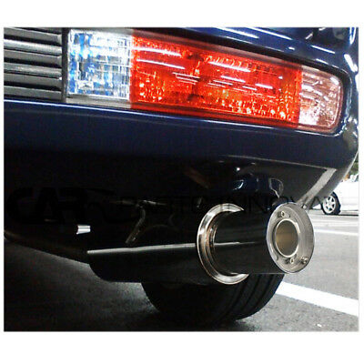 "Performance Exhaust Muffler Silencer For Car With 4"" Diameter Inlet High Quailty"