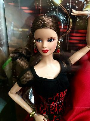 NEW~2011 Mattel Barbie Paso Doble  Dancing w/ the Stars Doll~nrfb