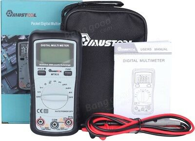 Audible Continuity Tester MT833 2000 Counts Auto Ranging Digital Multimeter