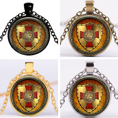 CROSS TEMPLAR CRUSADERS KNIGHTS CHRISTIAN Pendant Necklace