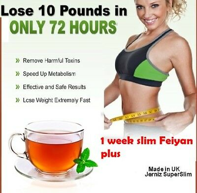 7 Day FEIYAN plus Slimming&Weight loss Diet TeaTox-Strong Detox Tea-Cleanse&Slim