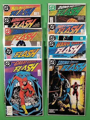 The Flash [2nd Series] #11, 12, 13, 14, 15, 16, 17, 18, 19, 20 Set (DC, 1988)