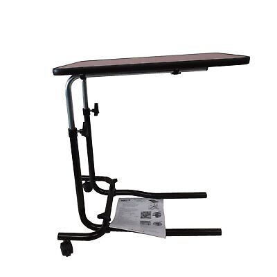 Brilliant Tray Portable Over Bed Chair Table Mobility Elderly Food Disability Adjustable Beutiful Home Inspiration Semekurdistantinfo